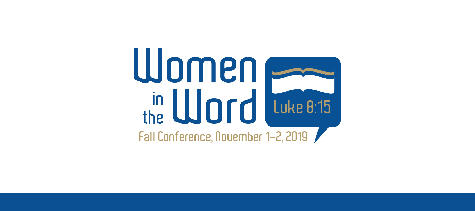 2019 Women in the Word Conference Details
